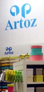 Stand Artoz paperworld 2014